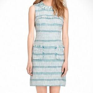 TORY BURCH Curtis Tweed Dress Sleeveless sz 8